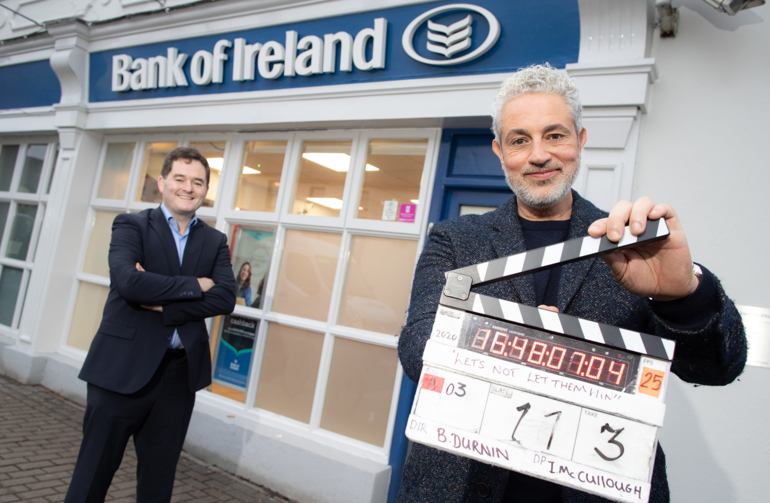 Bank of Ireland fraud campaign with Baz Ashmawy