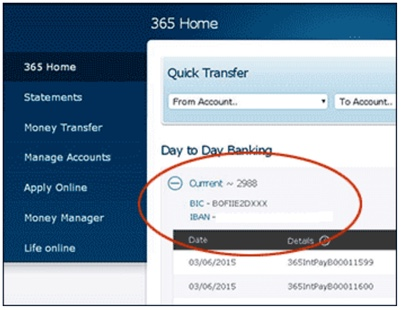 how to find your bank account number and sort code